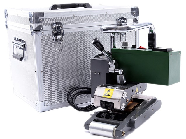 máy hàn nhựa lst900, máy hàn màng hdpe lst 900
