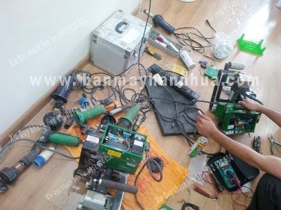 sửa chữa và cung cấp phụ tùng máy hàn nhựa